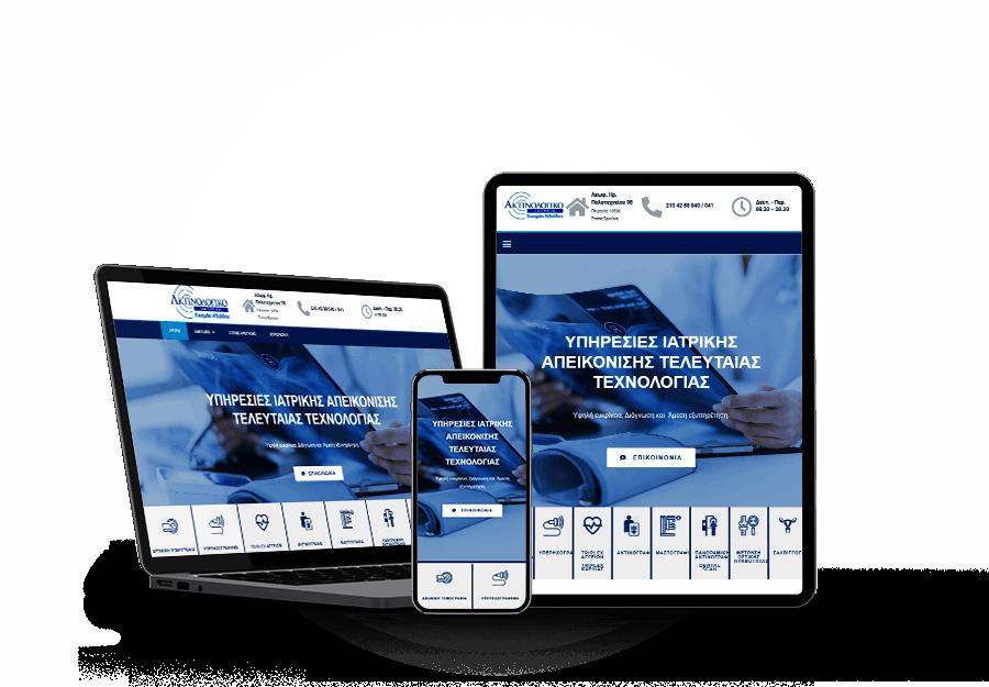 Aktinologiko Website developed by Devseg