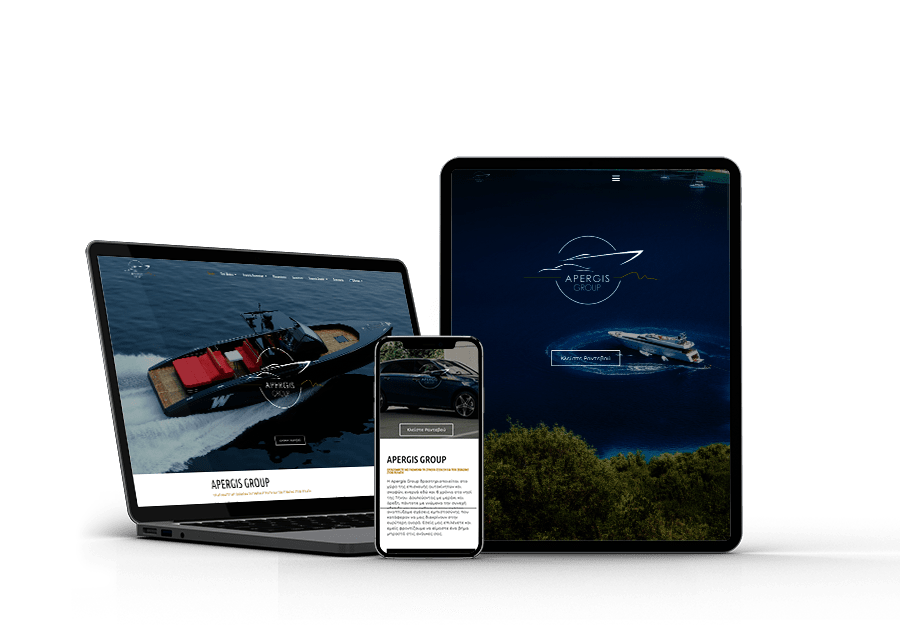 Apergis-Group Website developed by Devseg