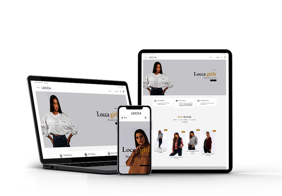 locca-all about woman Website developed by Devseg
