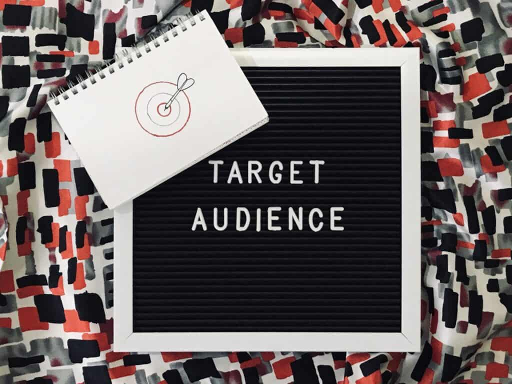 Target audience is a particular group at which a product such as a film or advertisement is aimed.